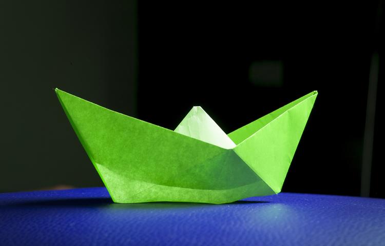 paper boat gemi vapur