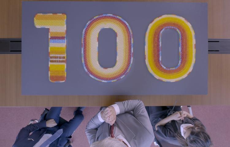 """""""HARIBO ile 100. Yılda %100 Eğlence!"""""""
