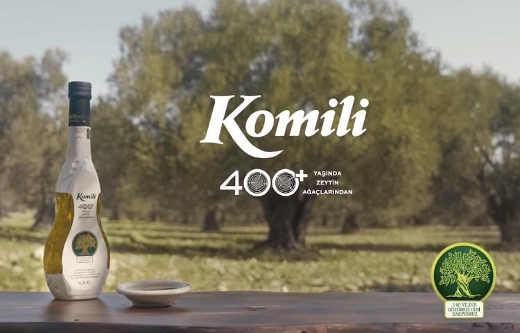 """""""Komili 400+"""" Zeytinyağı'nın reklam filmi ve dijital deneyimi yayında!"""