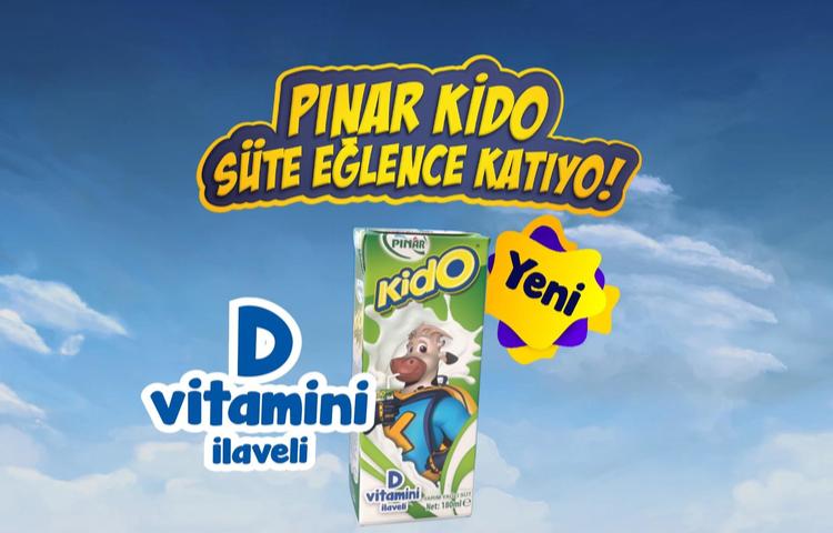 Pınar Kido Ailesi'nin yeni üyesi, D Vitaminli Sade Kido