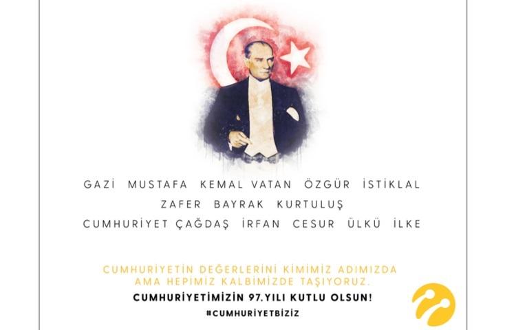 """""""Cumhuriyet Biziz"""""""