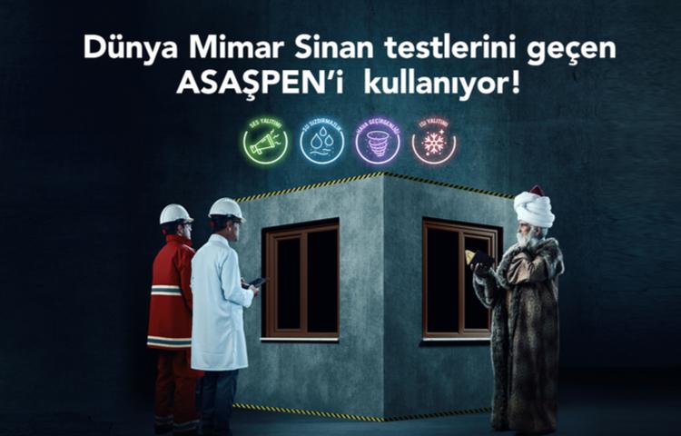 Asaşpen'den Mimar Sinan'lı reklam filmi