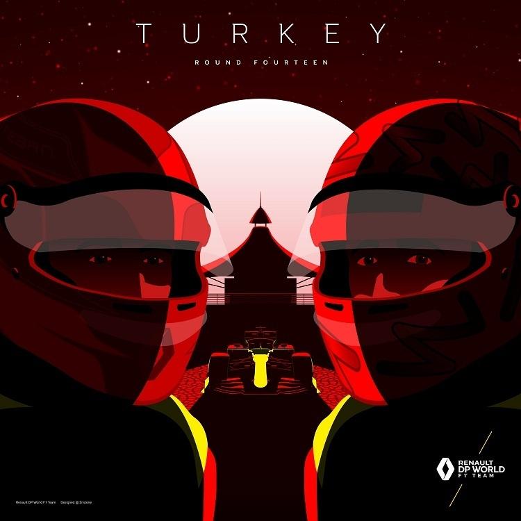 Formula 1'in şampiyonlarından etkileyici Türkiye paylaşımları
