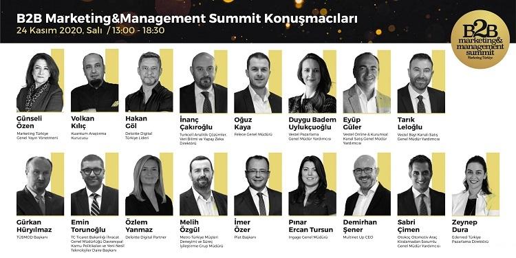 B2B Marketing & Management Summit tüm hızıyla devam ediyor!