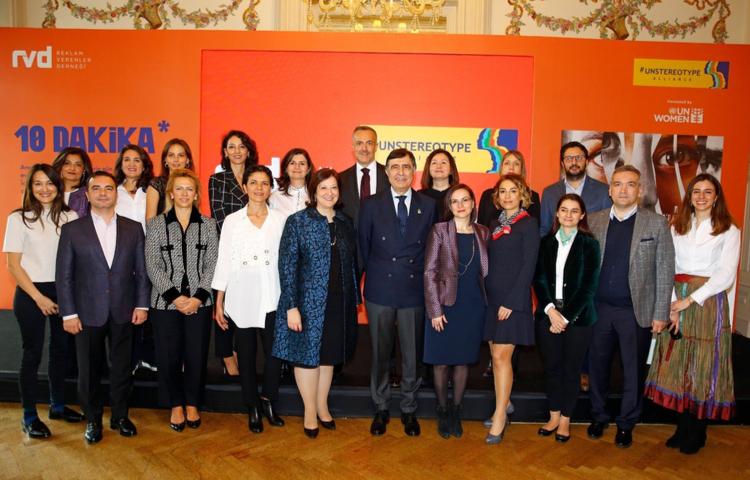 Unstereotype Alliance Türkiye'nin ilk Genel Kurul Toplantısı gerçekleşti.
