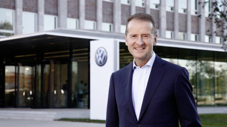 """Volkswagen CEO'su Herbert Diess: """"Sonumuzun Nokia gibi olmasını istemiyoruz"""""""