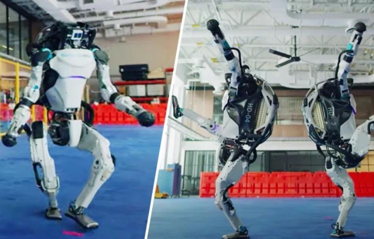 Boston Dynamics robotları danslarıyla gündemde!