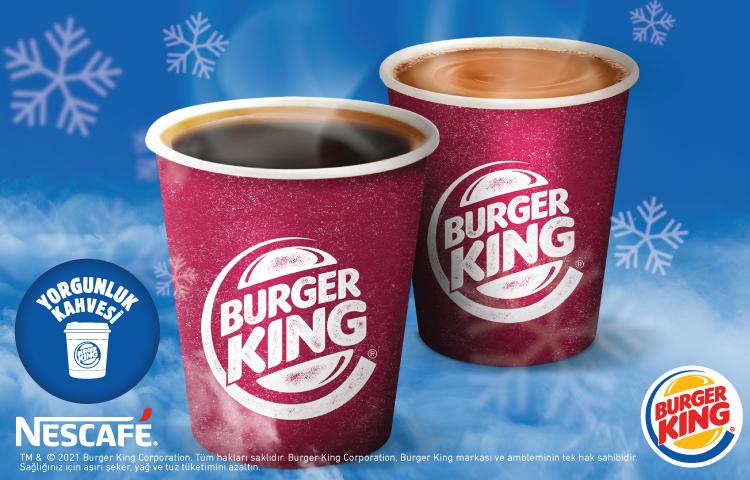 Burger King ve NESCAFÉ, kuryelere yılın ilk yorgunluk kahvesini hediye etti