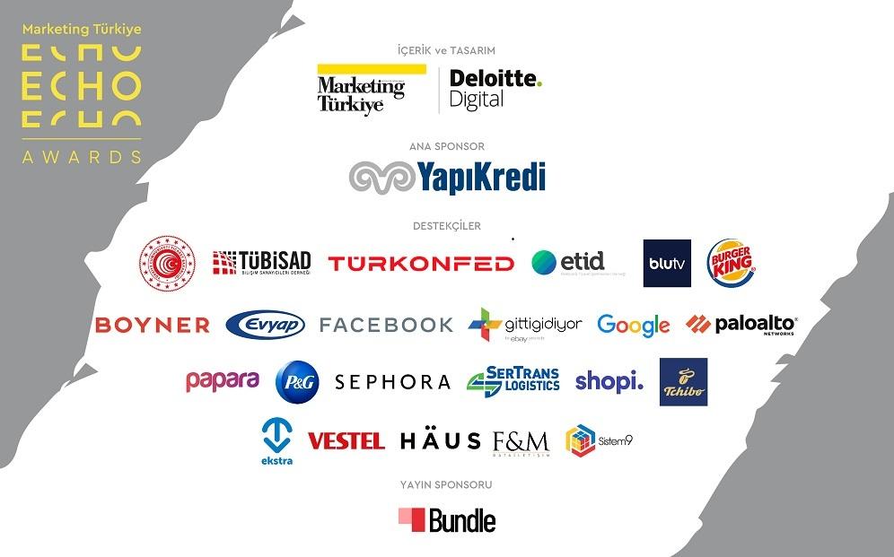 Türkiye'nin en büyük e-ticaret zirvesi ECHO Summit'in destekçileri belli oldu...
