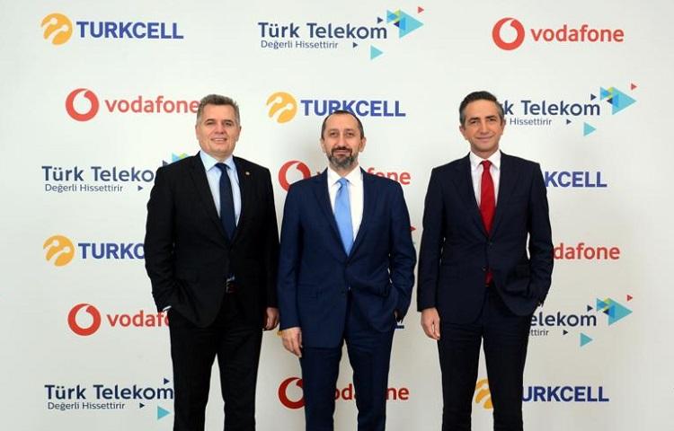 Dev proje: Turkcell, Vodafone ve Türk Telekom...