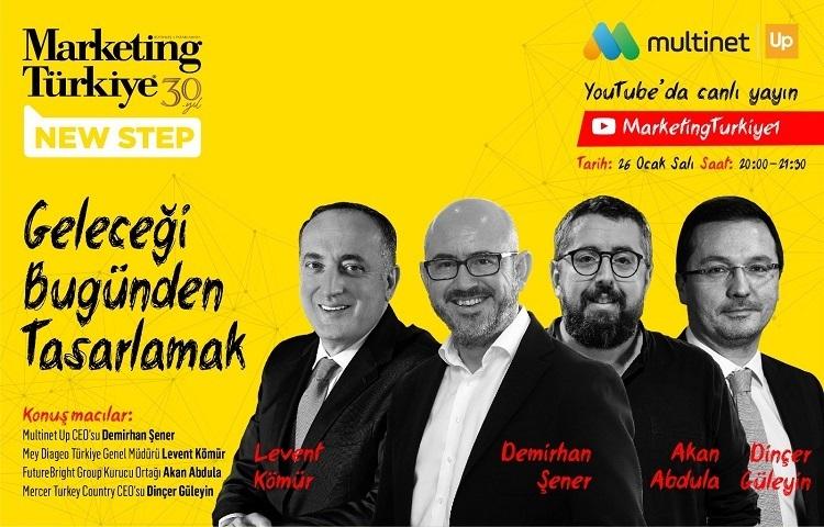 """Marketing Türkiye New Step'te """"geleceği bugünden..."""