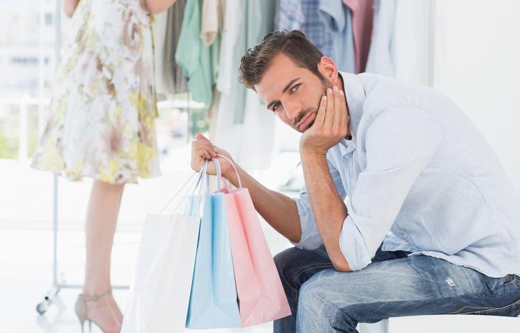 Mağaza alışverişi erkekleri neden mutsuz ediyor?