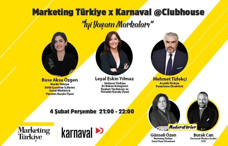 Marketing Türkiye – Karnaval'dan bir ilk: Clubhouse ortak yayını başlıyor