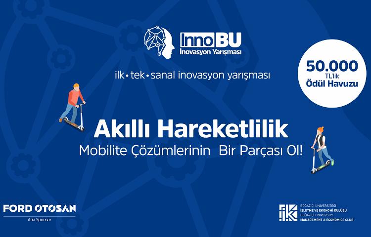 Türkiye'nin ilk ve tek sanal inovasyon yarışması InnoBU'nun başvuruları açıldı!