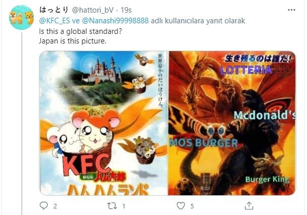 KFC orman kanunlarıyla Burger King'e savaş açtı, karşılığını aldı