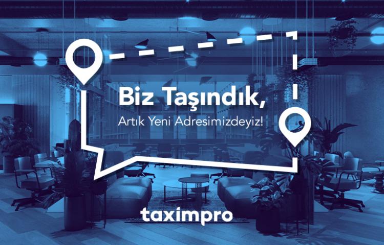 Taximpro yeni adresine taşındı!
