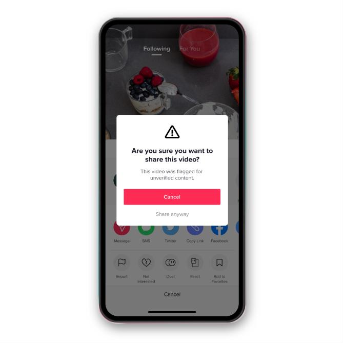 TikTok'tan kullanıcılarına yeni uyarı!