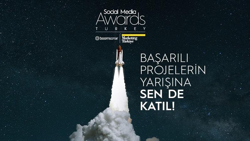 Fikriniz ödülsüz kalmasın! Social Media Awards Turkey'de son başvuru tarihi 31 Mart!