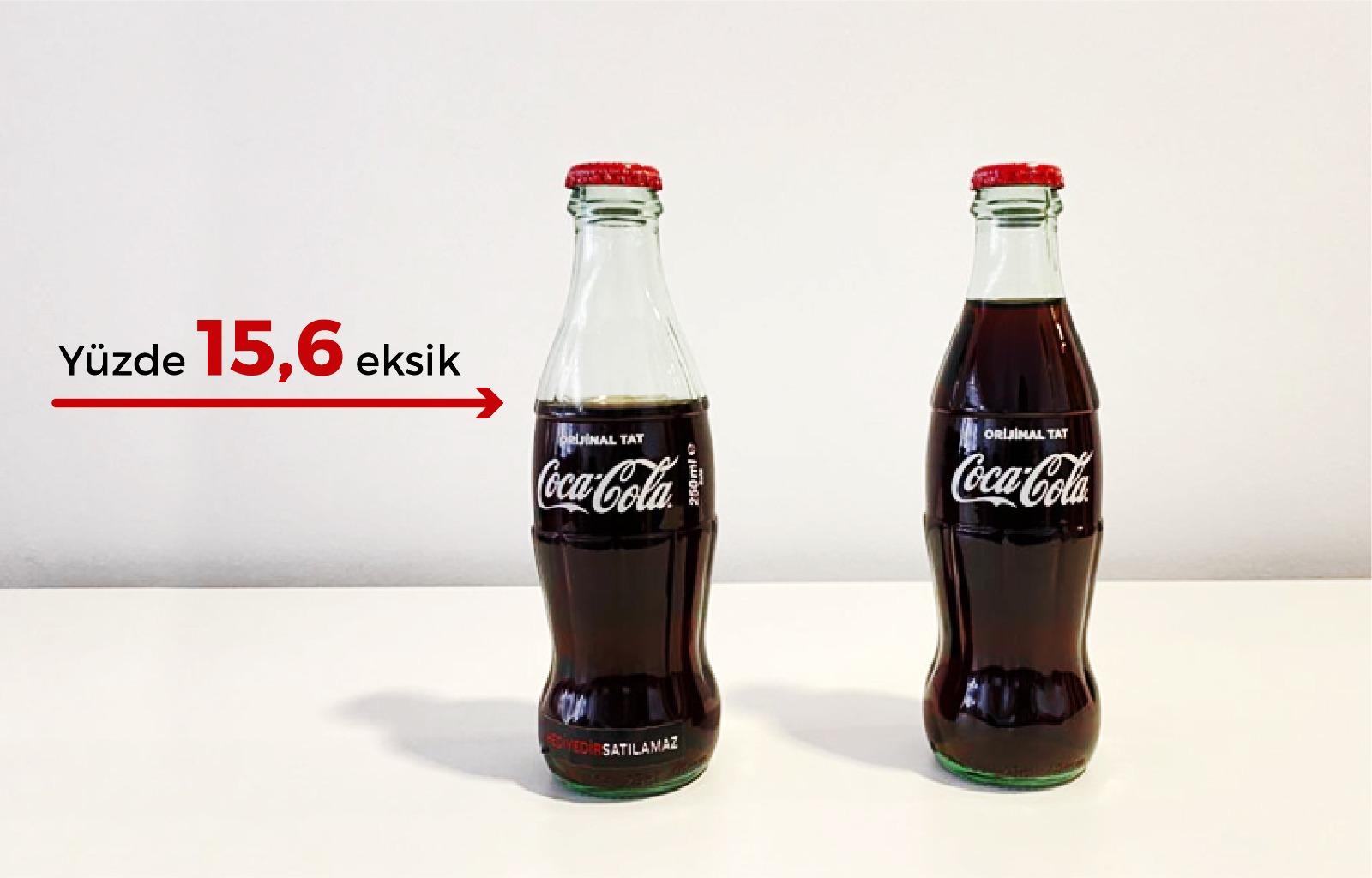 Coca-Cola basına neden eksik kola gönderdi?