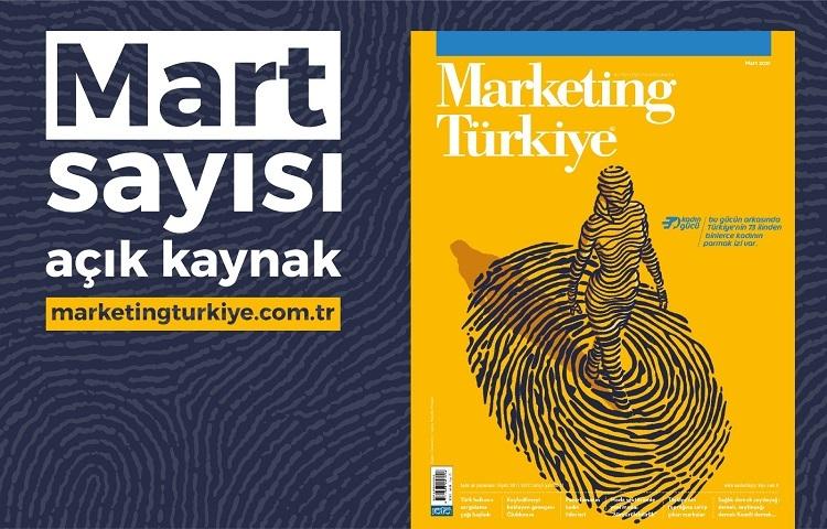 Gündem yaratan dosyalarıyla Marketing Türkiye Mart sayısı yayında...