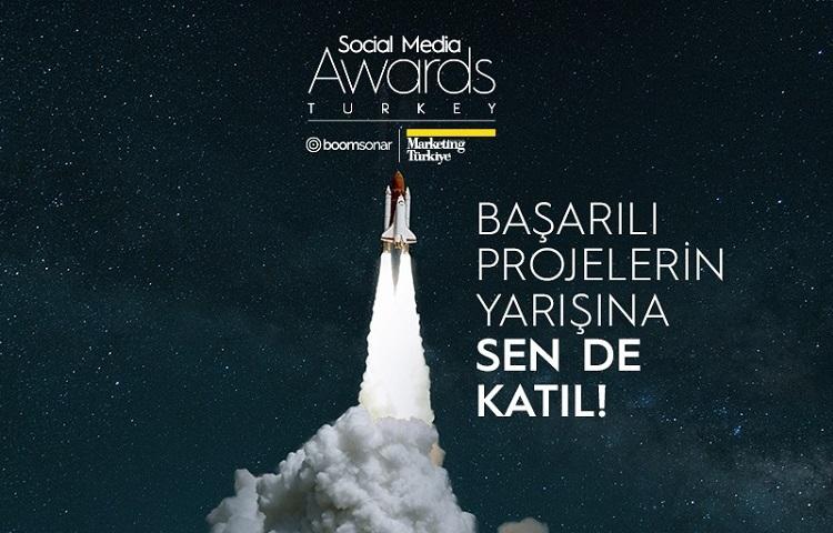 Social Media Awards Turkey 2021'de son başvuru tarihi 31 Mart!