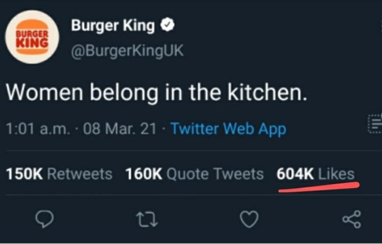 Burger King UK'den ortalığı karıştıran paylaşım!