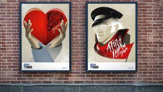İş Sanat'ın afişlerine uluslararası ödül