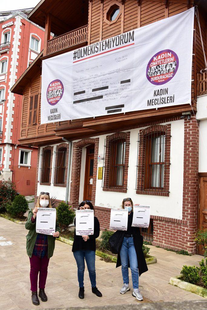 """""""Ölmek İstemiyorum"""" afişi Kadıköy'de!"""