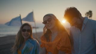 Müge Boz, Yusuf Çim ve Cansu Akın birlikte kamera karşında