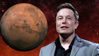 Elon Musk şimdi de Mars'ın imparatoru oldu!