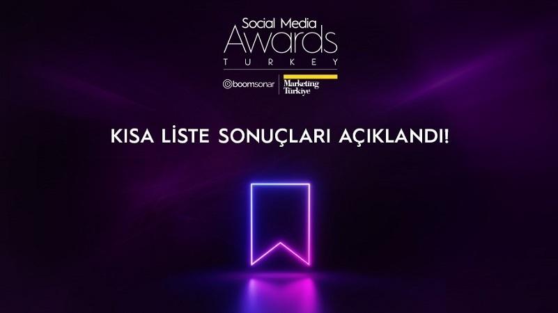 Social Media Awards Turkey 2021 finalistleri açıklandı