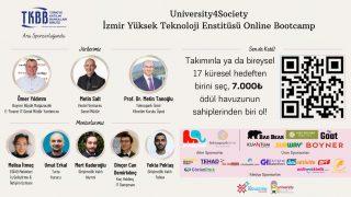 University4Society etkinliğinin İYTE temsilcisi İnovasyon Topluluğu oldu