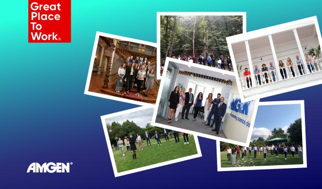 Amgen Türkiye 2021'in En İyi İşverenleri Listesi'nde