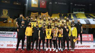 VakıfBank, Sultanlar Ligi'nde 12. kez şampiyon oldu!