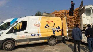 PTT, çalışanlarının zorla patates-soğan taşıdığı iddialarına yanıt verdi!