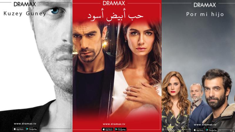 Türk dizileri Dramax'la dünya turunda!
