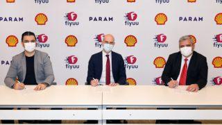 Shell & Turcas ile TFI TAB Gıda'nın Hızlı Teslimat Platformu fiyuu'dan ödemeleri kolaylaştıran iş birliği