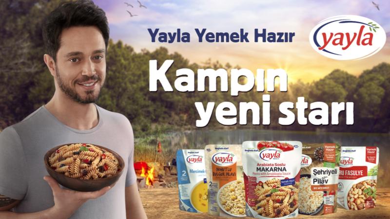 Murat Boz'dan kamp lezzetleri