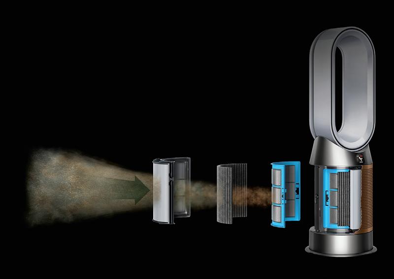 Dyson hava temizleyiciler güvenli ofisin kapılarını açıyor