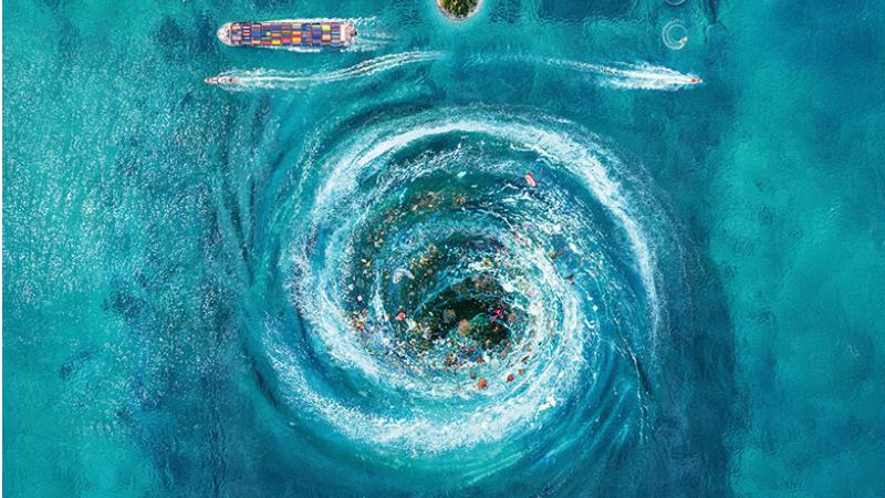 Persil sadece çamaşırları değil denizleri de derinlemesine temizliyor!