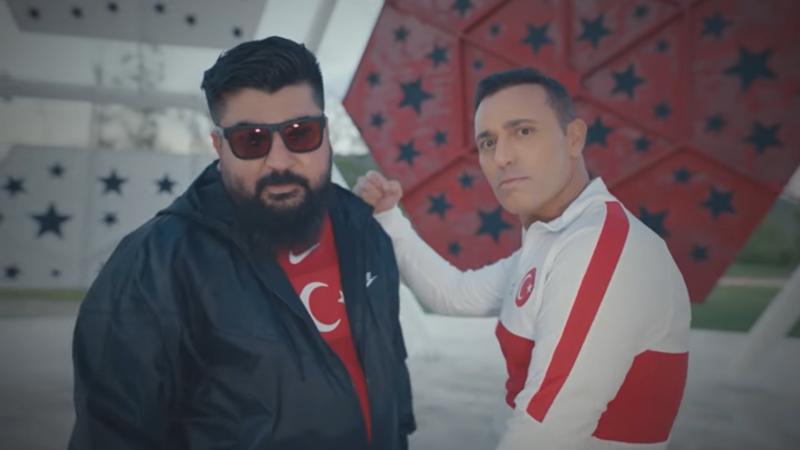 Türkiye A Milli futbol takımı Euro 2020 şarkısının klibi yayınlandı