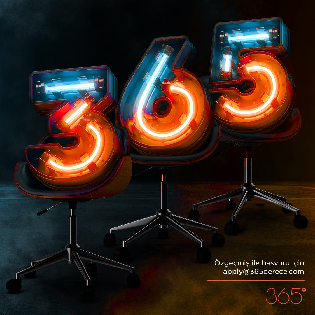365 Derece, 10. Yılında 3+6+5, Toplam 14 Yeni Çalışma Arkadaşı Arıyor!