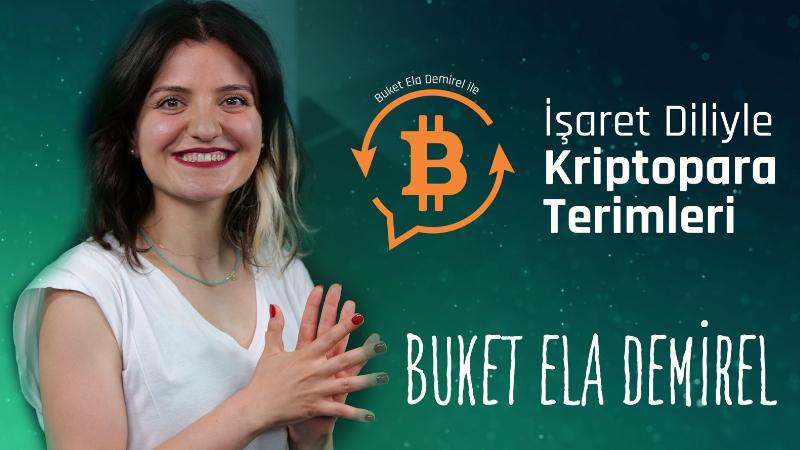 işaret dilinde bitcoin terimleri