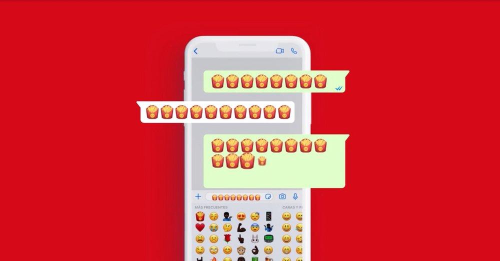 McDonald's patates kızartması emojisinde hak iddia ediyor