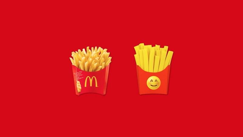 McDonald's patates kızartması emojisi
