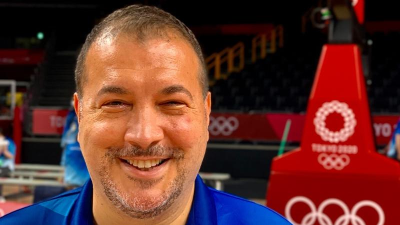 2020 Tokyo Olimpiyat Oyunları Erkekler Basketbol Finalinin anonsunu Mehmet Özben yapacak