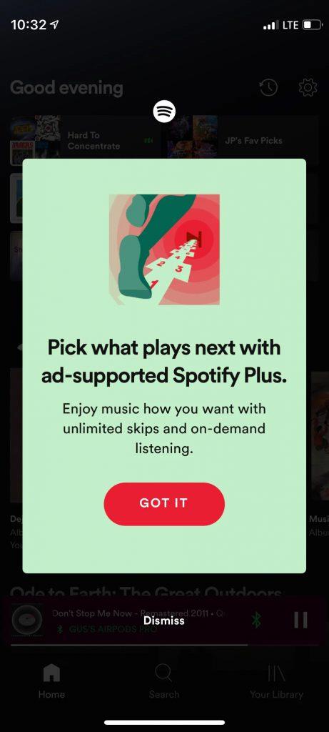 Spotify bütçe dostu yeni paketini duyurdu