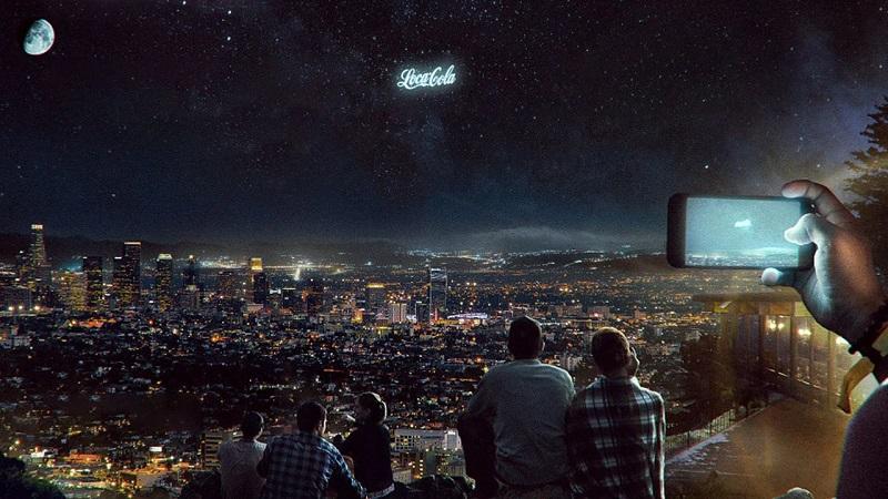 Elon Musk gökyüzünü reklam panosuna dönüştürüyor!