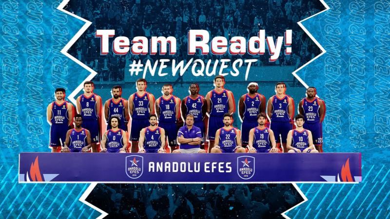 Anadolu Efes'in yeni sezon mottosu #newquest