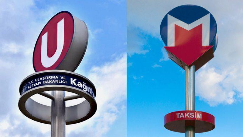 İstanbul metrosunun logosu değişiyor mu?